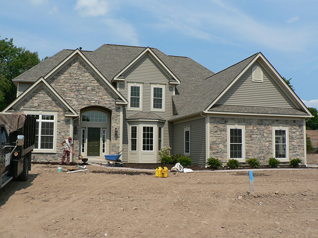 New homes for sale rochester ny victor home builder 39 s for New home exteriors
